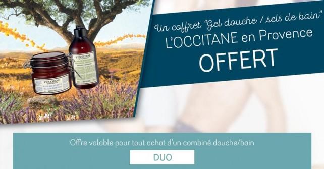 Offre Duo L'occitane